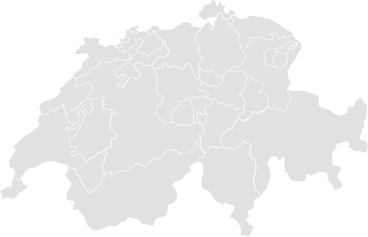 Map Schweiz Visual