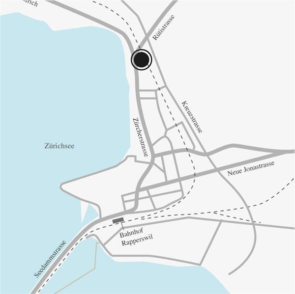 Standort Rapperswil von Vermögens Planungs Zentrum AG