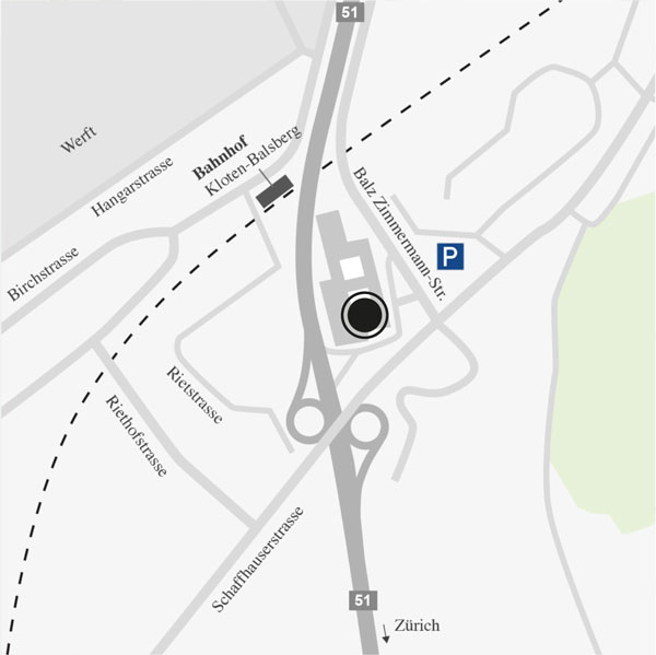 VPZ Hauptsitz Zürich-Flughafen der VPZ Vermögens Planungs Zentrum AG