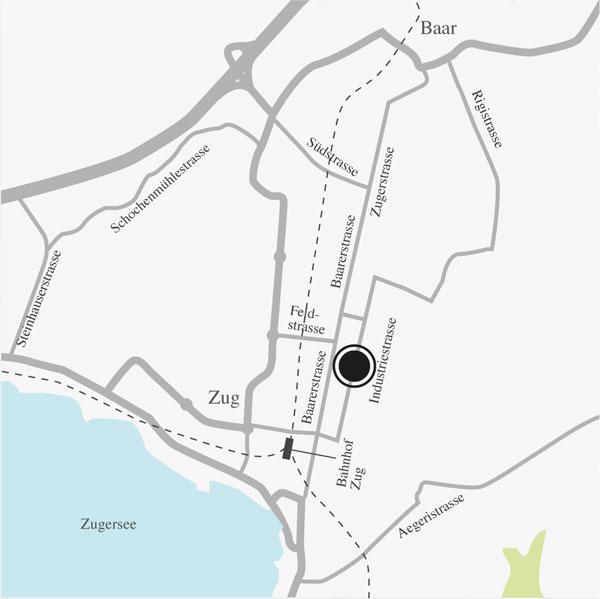 Standort Zug von Vermögens Planungs Zentrum AG